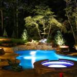 Фото 15: Освещение бассейна