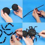 Фото 75: Изготовление паучка