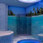 Фото 61: Плитка для ванной под подводный мир