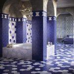 Фото 82: Плитка сотами в ванной