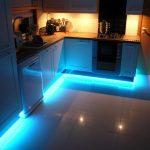 Фото 82: Подсветка на кухне