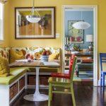 Фото 72: Кухонный уголок разноцветный