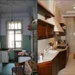Фото 39: Ремонт кухни до и после