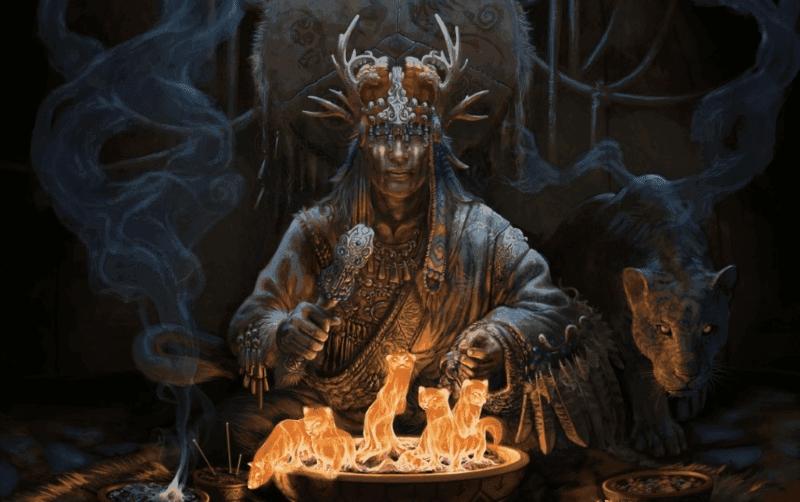 Использование дурмана в магических обрядах