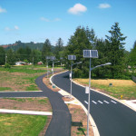 Фото 23: Солнечное освещение дороги