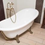 Фото 30: Стоячий смеситель с душем для ванны