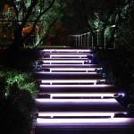 Фото 24: Подсветка ступеней