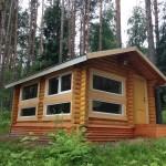 Фото 7: Летний домик из бревна