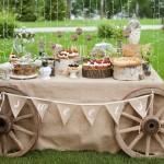 Фото 26: Оформление свадьбы в стиле Рустик