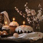 Фото 57: Свечи на Пасхальных блюдах