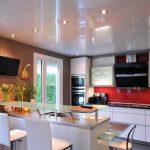 Фото 89: Точечное освещение кухни