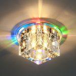 Фото 91: Точечный светильник с лед-подсветкой