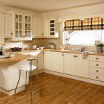 Фото 84: Римские шторы к клетку на кухне