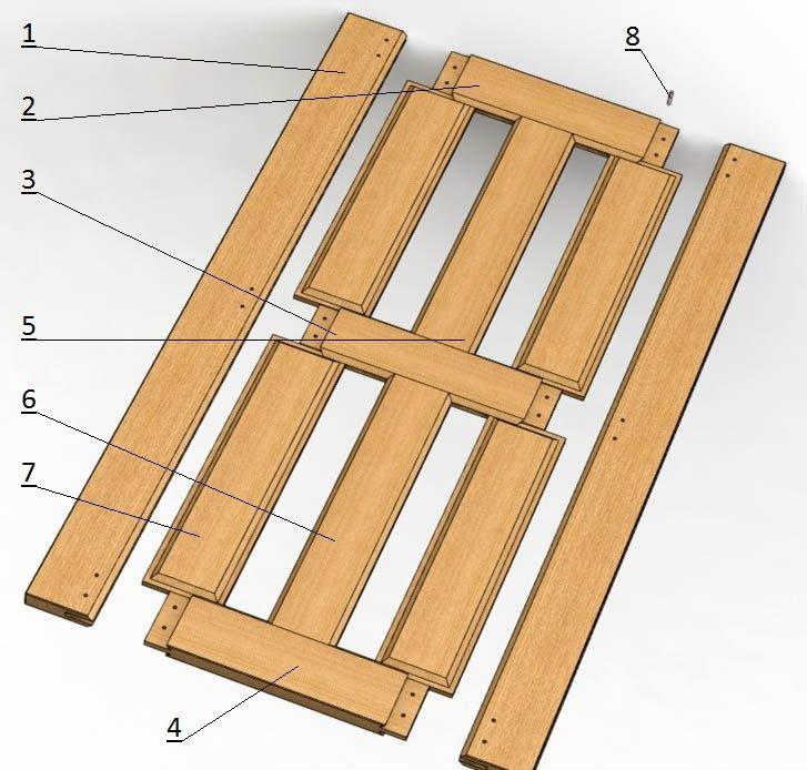 Входная деревянная дверь своими руками