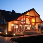 Фото 13: красивый современный деревянный дом