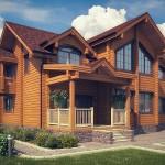 Фото 24: Деревянный дом для проживания