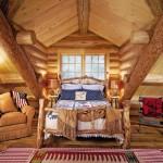 Фото 29: Интерьере деревянного дома
