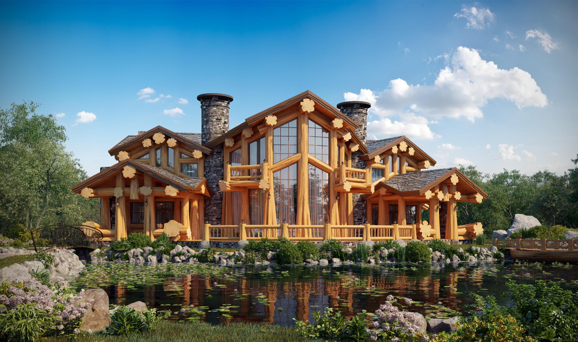 красивые деревянные дома фотогалерея зулусы нападали эдинбург