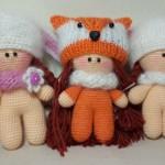 Фото 15: Милые куколки с помощью крючка