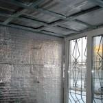 Фото 14: Как утеплить балкон своими руками (14)