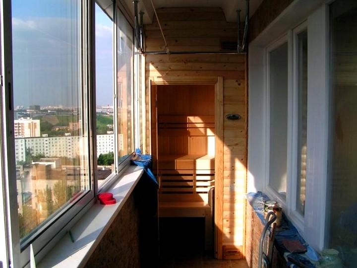 Как утеплить балкон своими руками (3)