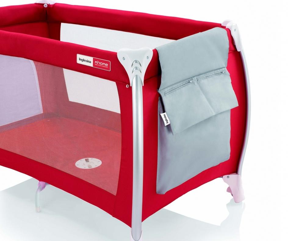 Красная кроватка