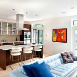 Фото 22: Кухня-гостиная