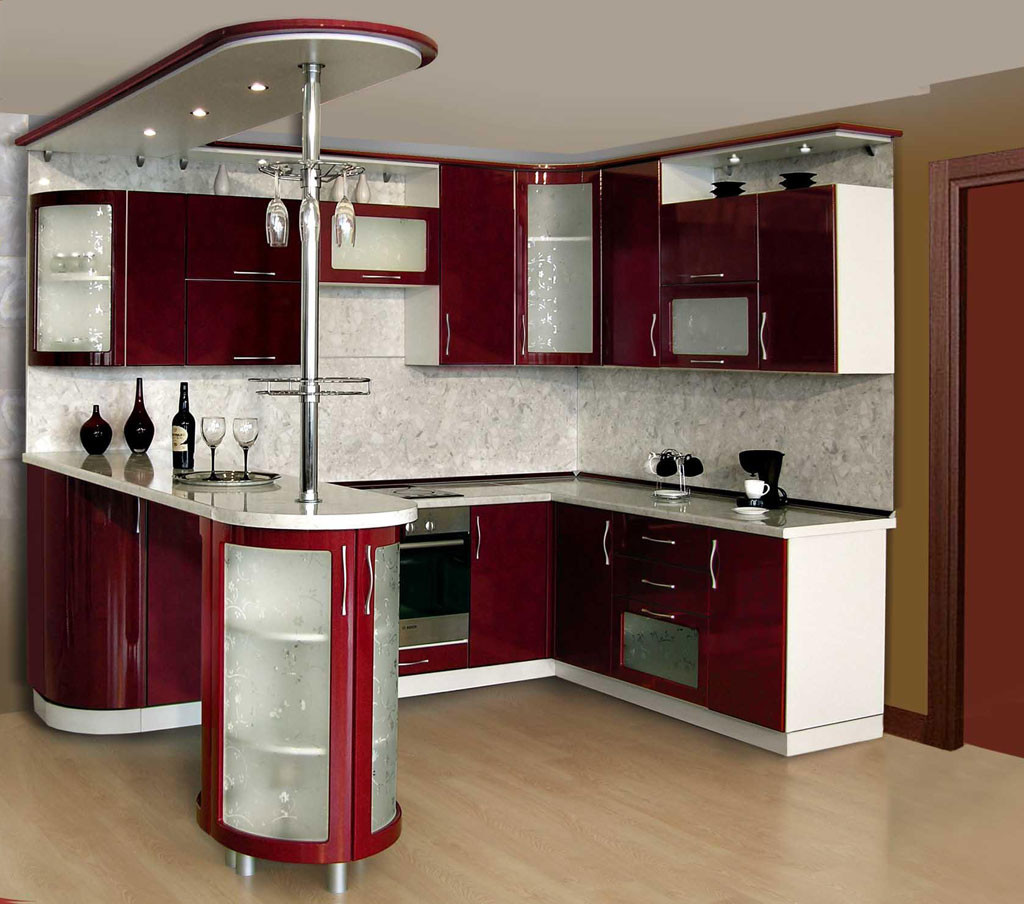 очевидно кухонная мебель с барной стойкой фото ингушская