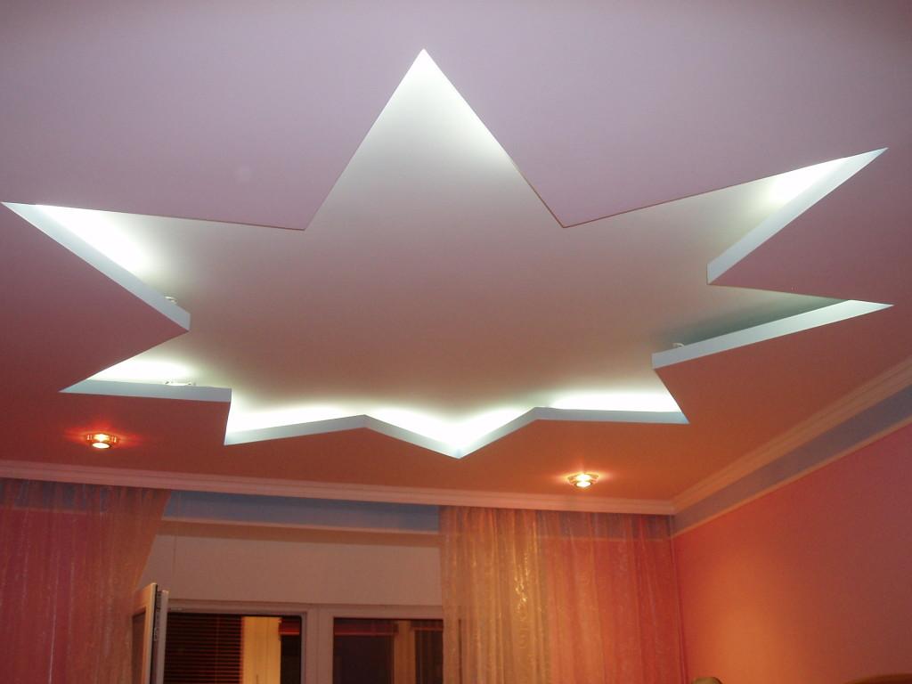 Навесной потолок с подсветкой