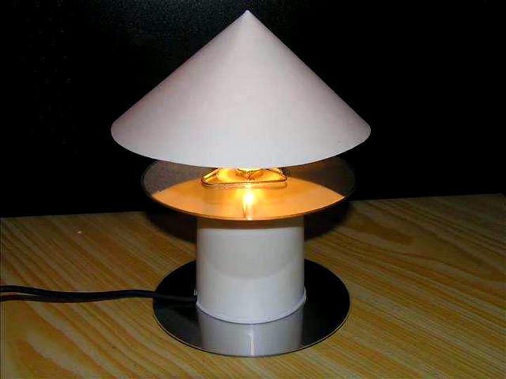 Настольная лампа своими руками (10)