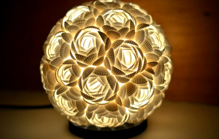 Настольная лампа своими руками (15)
