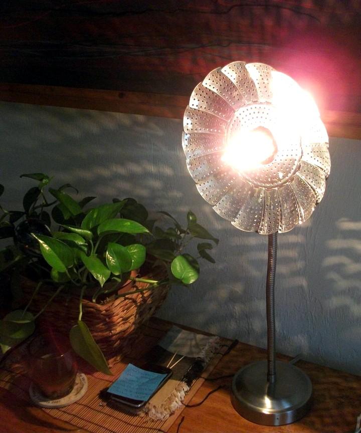 Настольная лампа своими руками (19)