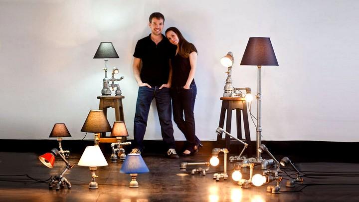 Настольная лампа своими руками (9)