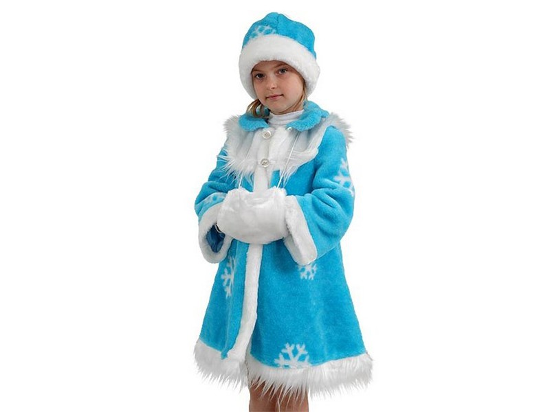 Костюм снегурочки детский