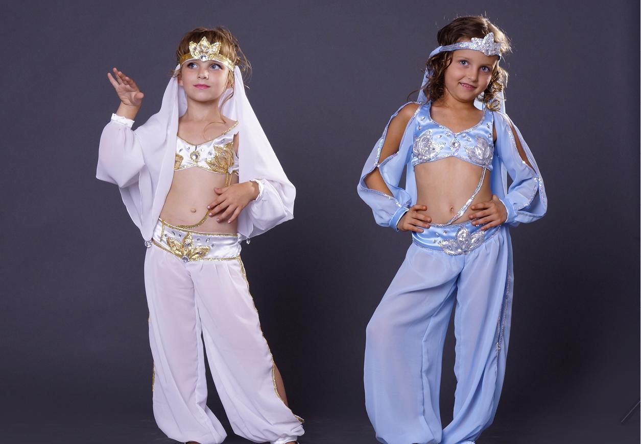 Новогодний костюм восточная красавица для девочки своими руками