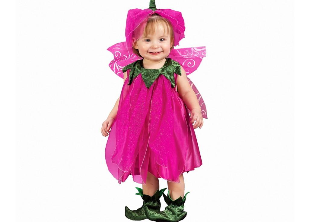 Новогодний костюм феи для малышки