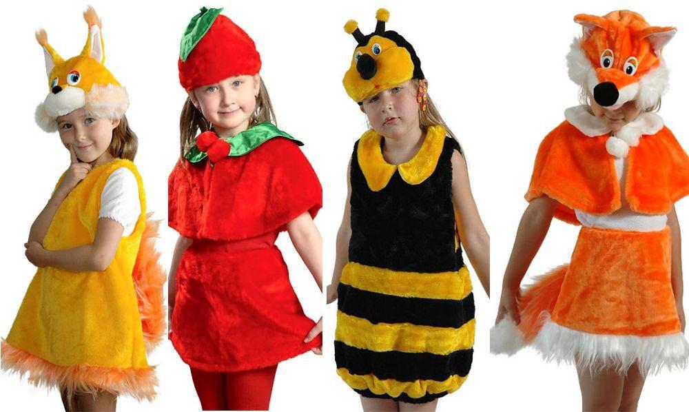 Новогодние плюшевые костюмы