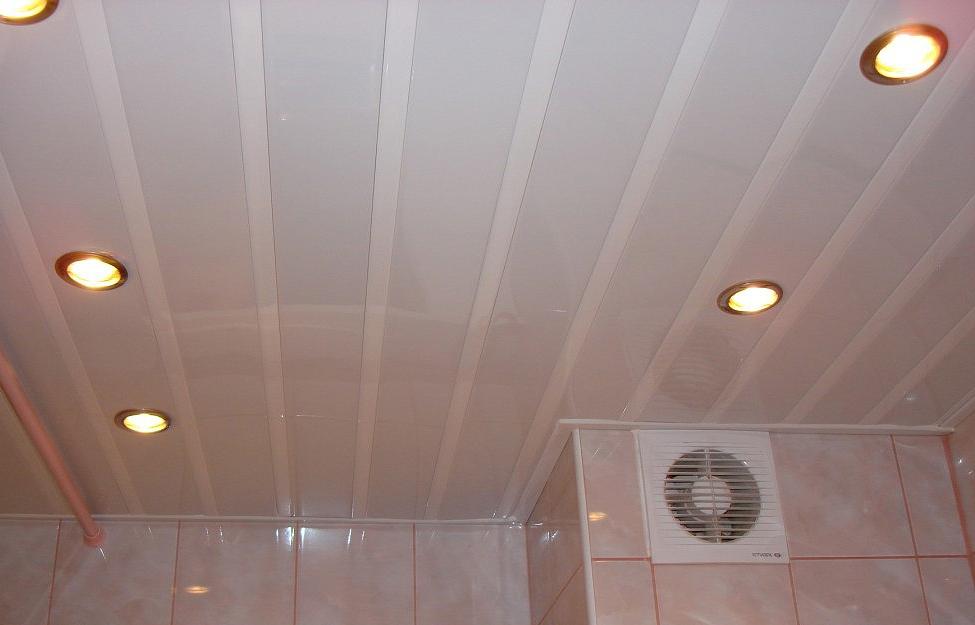 Подвесной потолок из панелей ПВХ