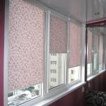 Фото 30: Рулонные шторы на балконе