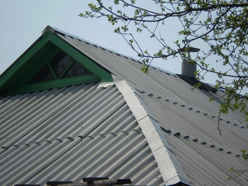 Шиферная крыша