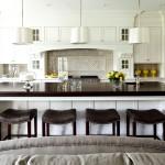 Фото 12: Кухня-гостиная с барной стойкой