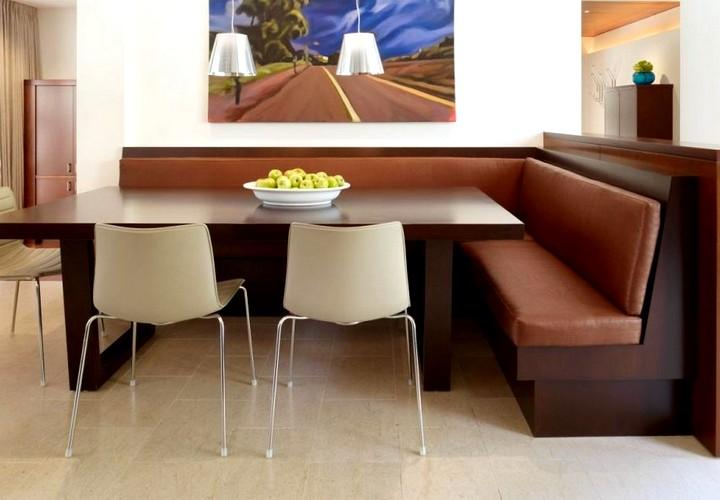 кухонные уголки со столом и стульями (3)