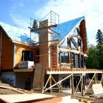 Фото 24: Строительство загородного коттеджа