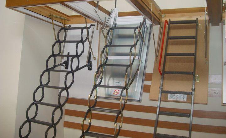 Выбор лестниц для чердака