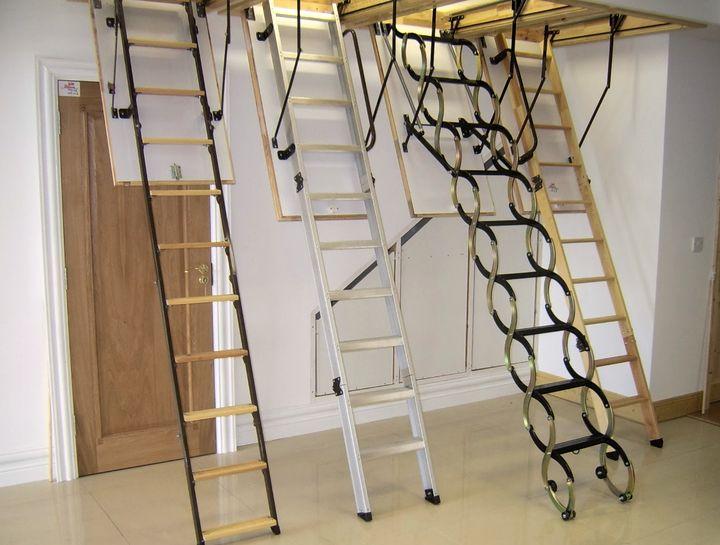 Чердачные складные лестницы