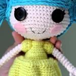 Фото 5: Кукла вязанная