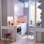 Фото 65: Кухонный гарнитур под пространство кухни