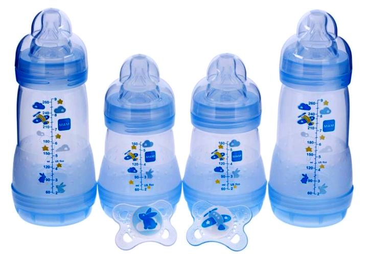 Детские бутылочки хорошо поддаются стерилизации в микроволновке