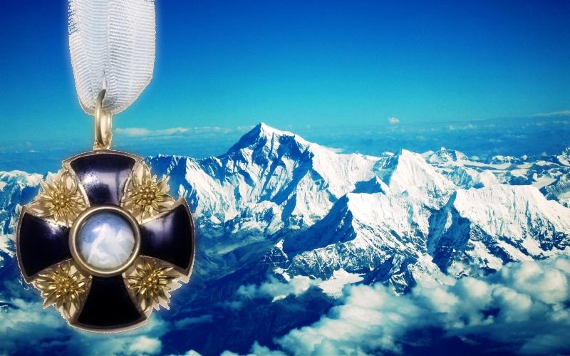 Эдельвейс - символ альпинистского спорта