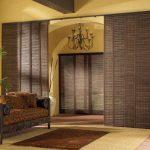 Фото 40: Бамбуковые раздвижные двери